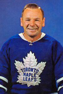 Johnny Bower Leafs