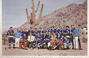 Phoenix Roadrunners team photo
