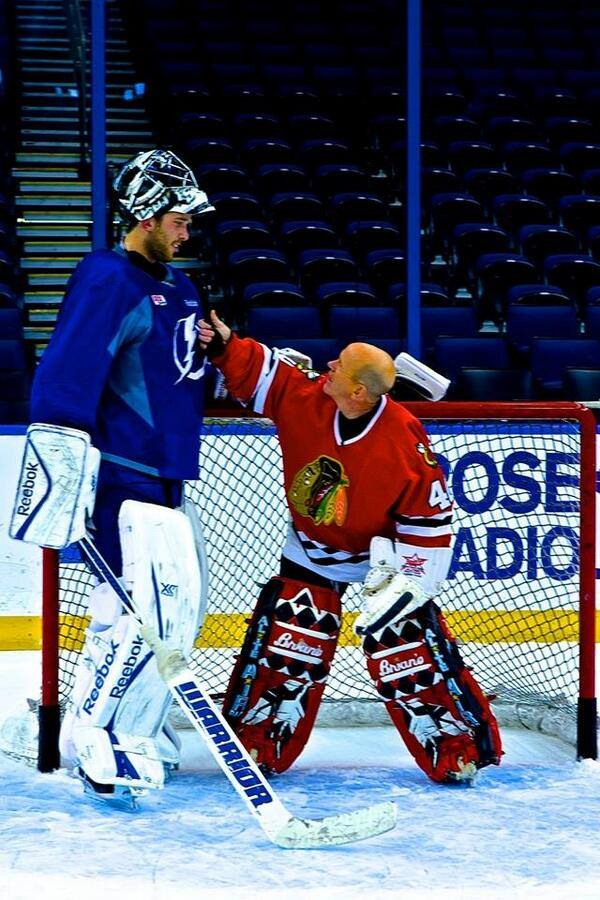 Ben Bishop and Darren Pang