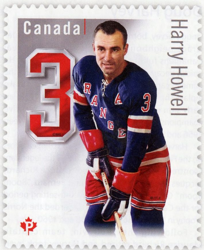 Harry Howell Canada Post stamp
