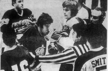 Seals-Kings Dec. 24, 1971