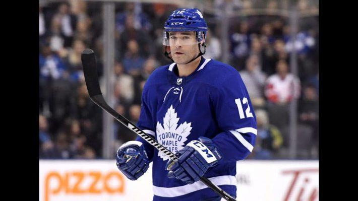 Toronto Maple Leafs forward Patrick Marleau