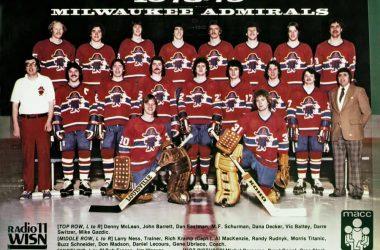 1978-79 Milwaukee Admirals team photo